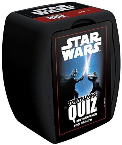 dt mit insgesamt 500 anspruchsvollen Fragen ins Star Wars Universum ein | Wissensspiel | Gesellschaftsspiel | Kartenspiel | Familienspiel (Star Wars Erwachsene)