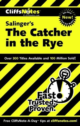 Buchseite und Rezensionen zu 'CliffsNotes on Salinger's The Catcher in the Rye (Cliffsnotes Literature Guides)' von Stanley P. Baldwin