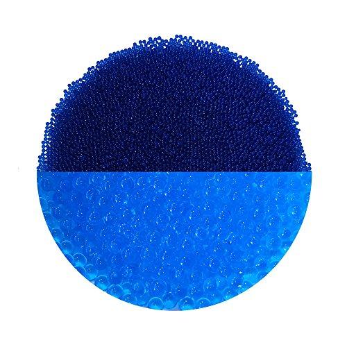 trendfinding Granulat für künstliche Blumenerde Hydroperlen Hydro Perlen Wasserperlen Aquaperlen Blau 1-2 mm
