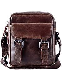 Gauge Crunch Leather Sling Bag Messenger Bag Portable Bag