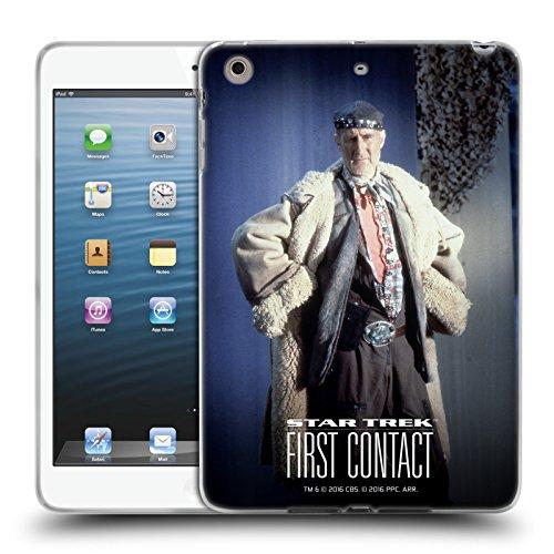 fizielle Star Trek Volles Kostüm Zefram Cochrane der Erste Kontakt TNG Soft Gel Hülle für Apple iPad Mini 1/2/3 (Kostüme Kontakte)