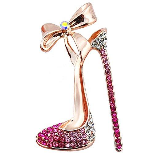 Nikgic 1pc Broche Diamantes Imitación Broche Zapatos