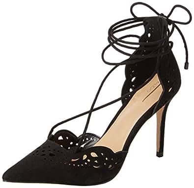 Aldo Women's Antoinette Ankle Strap Pumps, Black (Black / 98), 7 UK