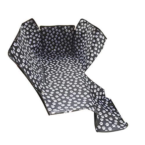 DROMEZ Hunde Autositzbezug Hundedecke Wasserdicht Suitable for All Cars rückbank Oder Kofferraum für Große und Kleine Hunde auf Dem Autositz 130cm*145cm