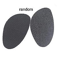 Binghotfire Unisex soles non-slip stickers pad rubber Foot Heels Shoes Anti Slip Pads Black L