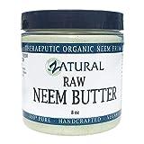 Naked Neem Neem bio burro Shea burro, olio di cocco, olio di Neem, foglia di Neem, olio di Marula, burro di Kokum, rosmarino (8 once)