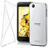 HTC Desire 320 Hülle Silikon Transparent Klar [OneFlow