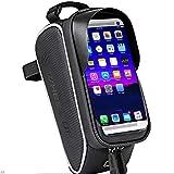 Hxyt Wasserdichte Fahrrad-Frontabdeckung-Touchscreen-Mountainbike-Frontstrahl-Schlauchbeutel-Reitausrüstung, geeignet für Outdoor-Wetter