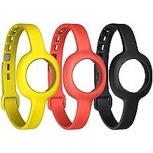 Jawbone UP Move Confezione Accessori, Cinturini Slim, Onyx/Rosso/Giallo