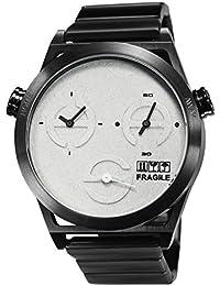 TACS World Kraft Analog White Dial Unisex Watch - TS1305B