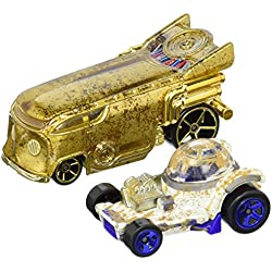 Hot Wheels Star Wars R2-D2 and C-3PO Character Car 2-Pack