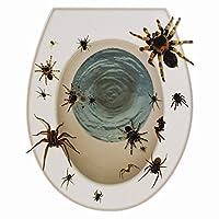 1x Halloween Toilet Seat Sticker- Spider or Hand Grabber
