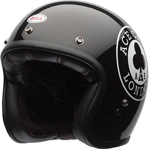Bell Ace Cafe Adult Custom 500 Cruiser Motorcycle Helmet - Black / Medium by Bell