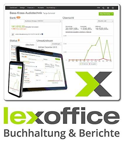 Lexoffice Buchhaltung + Berichte- 1 Jahreslizenz- die Online- Buchhaltung (Cloud Lösung)