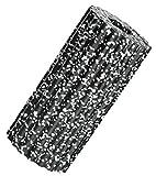 AOOPOO Faszienrolle Foam Roller Massagerolle zur Selbstmassage und Faszienübungen,Abmessung von ca. L 32 cm x D 14 cm,schwarz+weiß