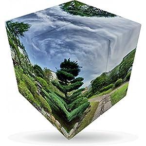 """V-Cube """"2-Japanese jardín Cube"""