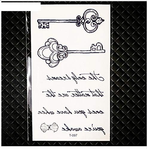 lack Anchor Pirate Ghost Gefälschte Tätowierung Kinder Männer Finger Temporäre Tätowierung Aufkleber Dame Körper Arm Art Tattoo Kinder Kompass ()