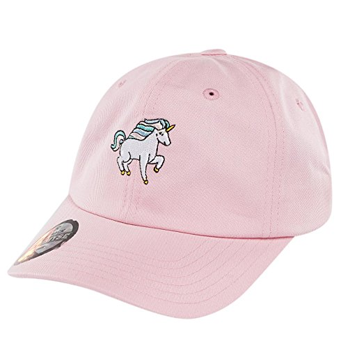3f471dde8b97 Just Rhyse Herren Caps Snapback Cap Unicorn pink Verstellbar