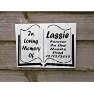 Personalised Dog Cat Horse Pet Animal Memorial Plaque Free P&P