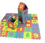 MTSZZF Alfombra Puzzle 36 Piezas - Alfombrilla de Juego Infantil Gomaespuma EVA Resistente a la Humedad, Lavable, Resistente de Colores Rompecabezas