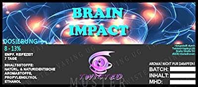 Twisted Aroma Brain Impact von Twisted Vaping