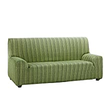 Martina Home Mejico Model Stretch Sofa Cover 3 Seater green