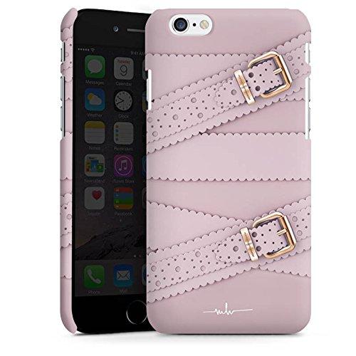 Apple iPhone X Silikon Hülle Case Schutzhülle Leder Mode Schnallen Premium Case matt