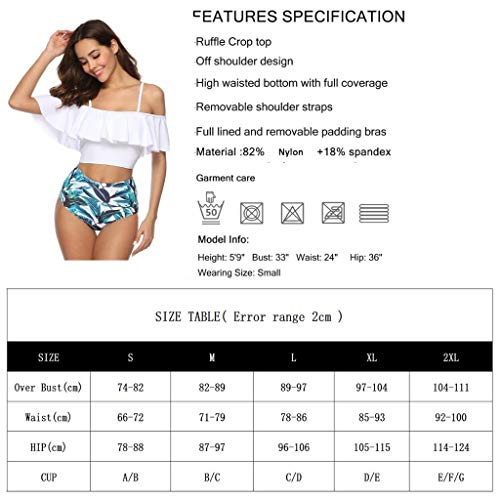 Jessie Kidden Damen Bikini-Set Gr. L, dunkelgrün - 5