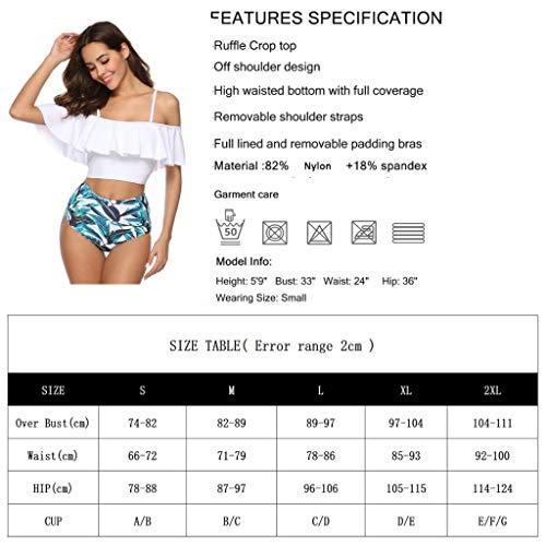 Jessie Kidden Damen Bikini-Set Gr. S, Navy Vogel - 4
