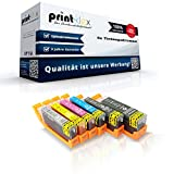 6x kompatible XXL Tintenpatronen für Canon Pixma MG 7750 Series Pixma MG 7751 PGI570-CLI571 Foto Schwarz Schwarz Cyan Magenta Yellow Grau - Eco Pro Serie