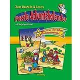 Junker Verlag Puzzle Adventskalender - Drei Könige folgen dem Stern - Adventskalender als großes 24-teiliges Puzzle - mit Begleitgeschichte zum Vorlesen