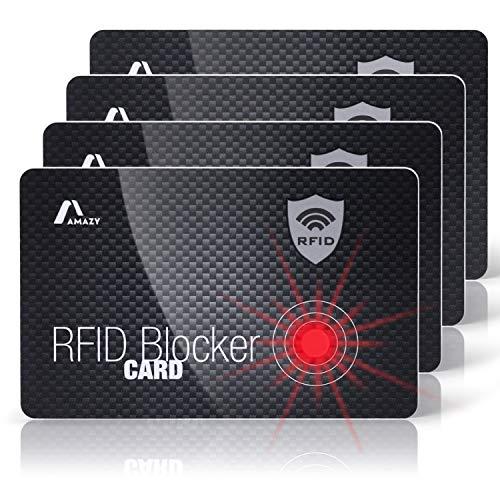 RFID Blocco di debito e credito titolare della carta a fiori