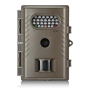Recool R20 Macchine fotografiche da caccia, IP66 impermeabile visione notturna 720P HD del gioco e traccia Caccia Camera - 8MP dinamico di digitale acquisizione (Bianca LED)