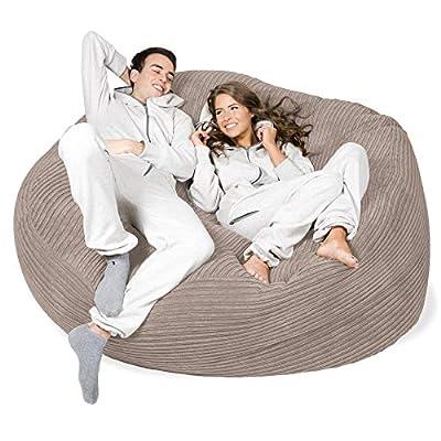 Lounge Pug® - CORD - GIANT Bean Bag SOFA - MEGA MAMMOTH - Beanbag