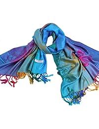 Novawo® Women's Particular Rainbow Butterfly Print Scarf/ Shawl/ Wrap