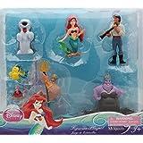 Disney Little Mermaid Figure Set -7Pcs Ariel Figurine Playset