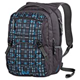 Jack Wolfskin Rucksack Board Walk 26, black crushed checks, 26 Liter, 25049-7499