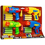 Buzz Bee Toys Air Warriors Tek 3 Blaster Four Pack by Buzz Bee