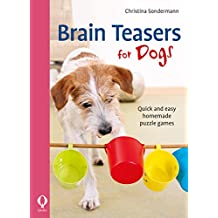 Brain Teasers for Dogs: Quick and easy homemade puzzle games (English Edition)