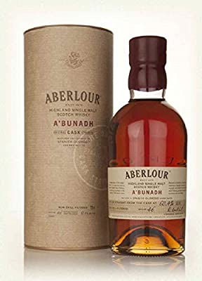 Whisky Malte Aberlour A'bunadh Batch 46 With 2 Glasses