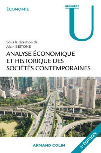Analyse économique et historique des sociétés contemporaines (Économie)