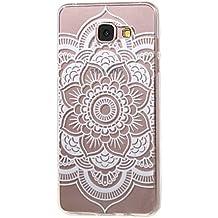 Voguecase® Pour Samsung Galaxy A3 (2016) SM-A310F, TPU Silicone Shell Housse Coque Étui Case Cover (Dentelle tapis)+ Gratuit stylet l'écran aléatoire universelle