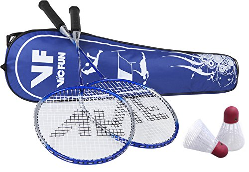 VICFUN Hobby Badminton Set Advanced - Blau