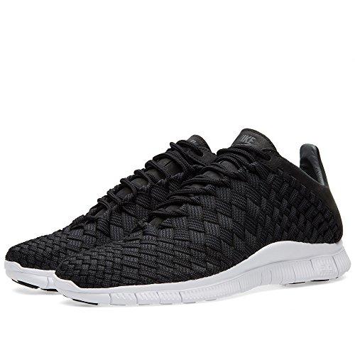 Nike Free Inneva Woven, Chaussures de Sport Homme, 25 EU Noir - Negro (Black / Anthracite-Summit White)