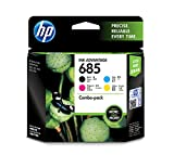 HP 685 Black Cyan Magenta Yellow Original Ink - Best Reviews Guide
