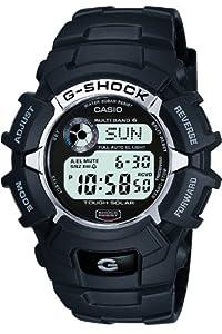 Reloj de caballero CASIO G-Shock GW-2310-1ER de cuarzo, correa de resina color negro (con radio, cronómetro, luz) de Casio