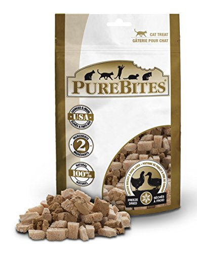 PureBites Cat Chicken and Duck Liver Freeze Dried Natural Nutritious Treats...