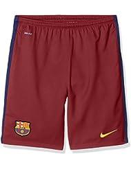 Nike Fcb Ha Gk Stadium Short - Pantalón corto Fútbol Club Barcelona 2015/2016 para hombre, color rojo / azul / dorado, talla M