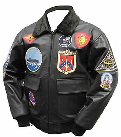 Top Gun Mavericks, Blouson d'aviateur en cuir de