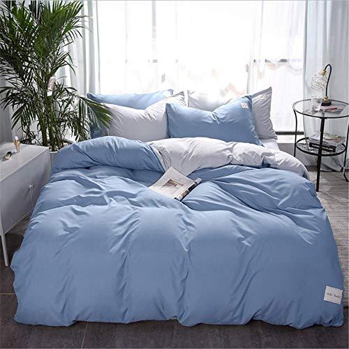 SHJIA Bettwäsche Heimtextilien Bettbezug Set Einfache Baumwolle Bettwäsche Bettbezug Set Kissenbezüge Abdeckung Anzug E 220x240 cm - Frösche Baby-bettwäsche-sets